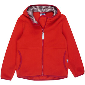 Finkid Paukku Zip-In Jacket Kids Grenadine/Red